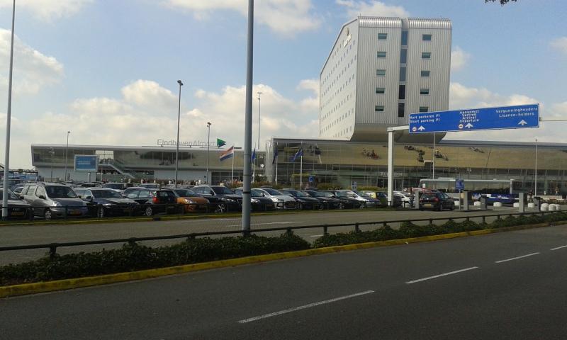 Letiště v Eindhovenu