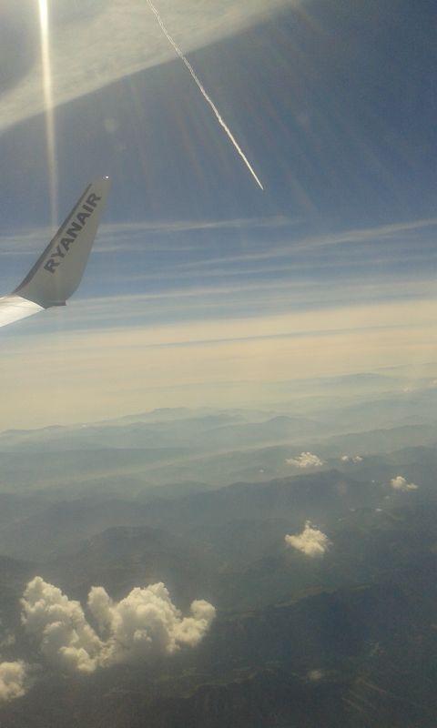 Tam někde dole jsem nedávno lyžoval - rakouské Alpy
