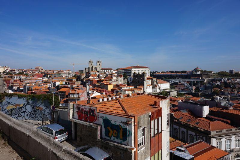 Sluníčko a teplota kolem třicítky - tak nás letos Porto přivítalo