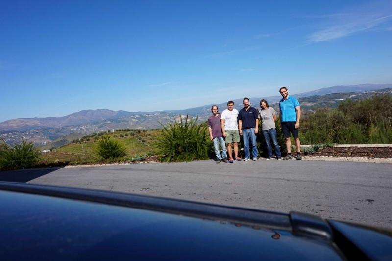 Společné foto po exkurzi