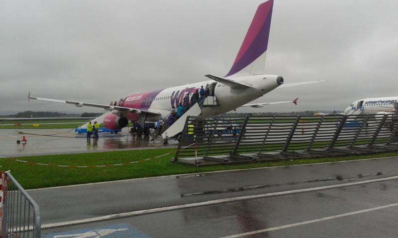 Letiště Brno - Tuřany, náš stroj