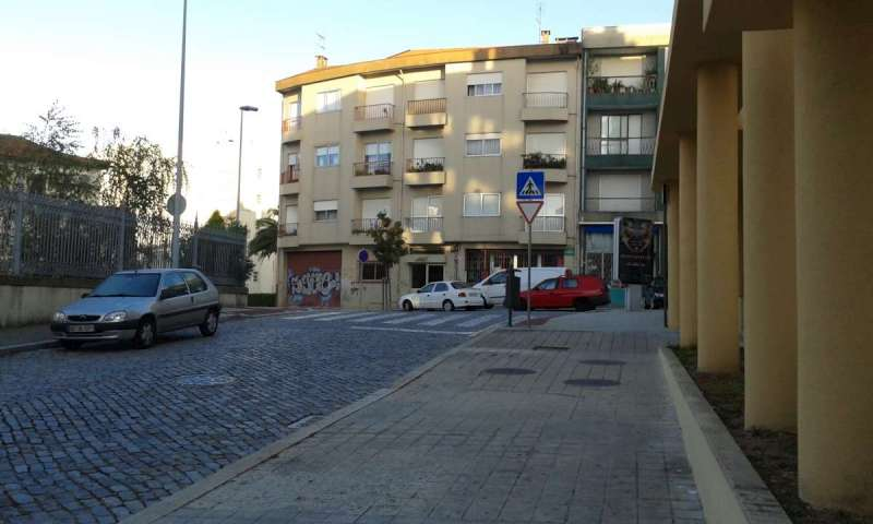 Rua Aleixo - pohled od bytového domu