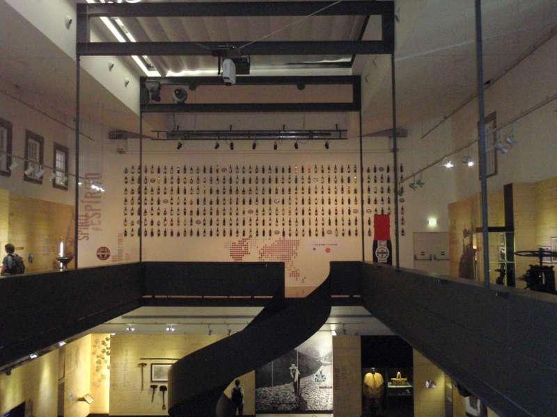 Régua - v prvním patře muzea