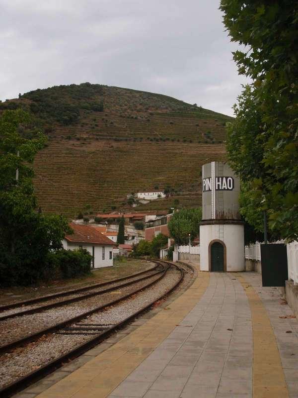 Na nádraží v Pinhao