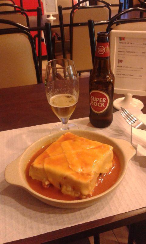 Ta moje k večeři na Rua Nova da Alfandega