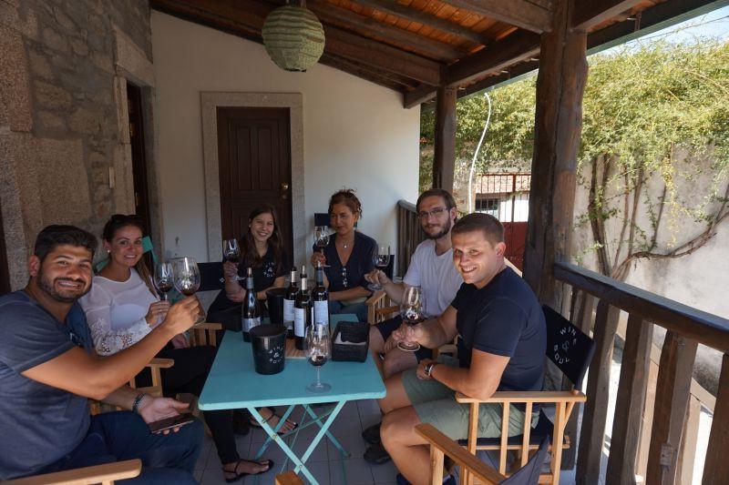 Wine & Soul: na verandě s naší průvodkyní a brazilskými přáteli