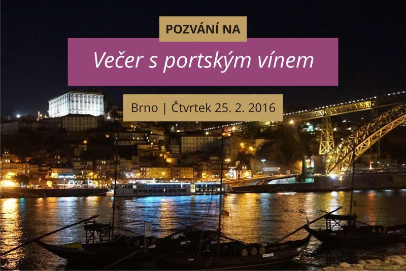 Večer s portským vínem 250216