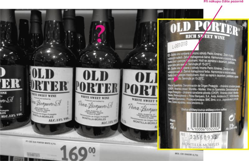 Absence kolku Selo de Garantia je jistotou, že tenhle výrobek není pravé portské víno