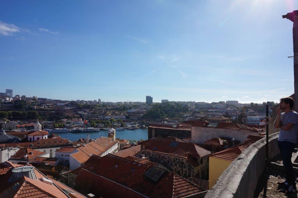 Pohled na Vila Nova de Gaia