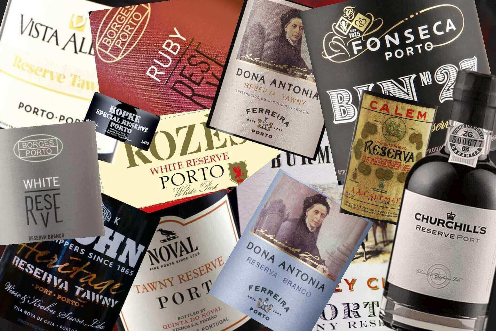 Portské víno Reserva - titulní obrázek