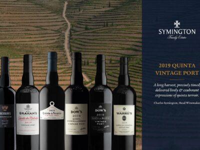 Temperamentní a svěží, taková budou portská vína Vintage 2019 od Symington Family Estates