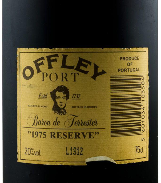 Etiketa na láhvi s vyobrazením Barona Forrestera