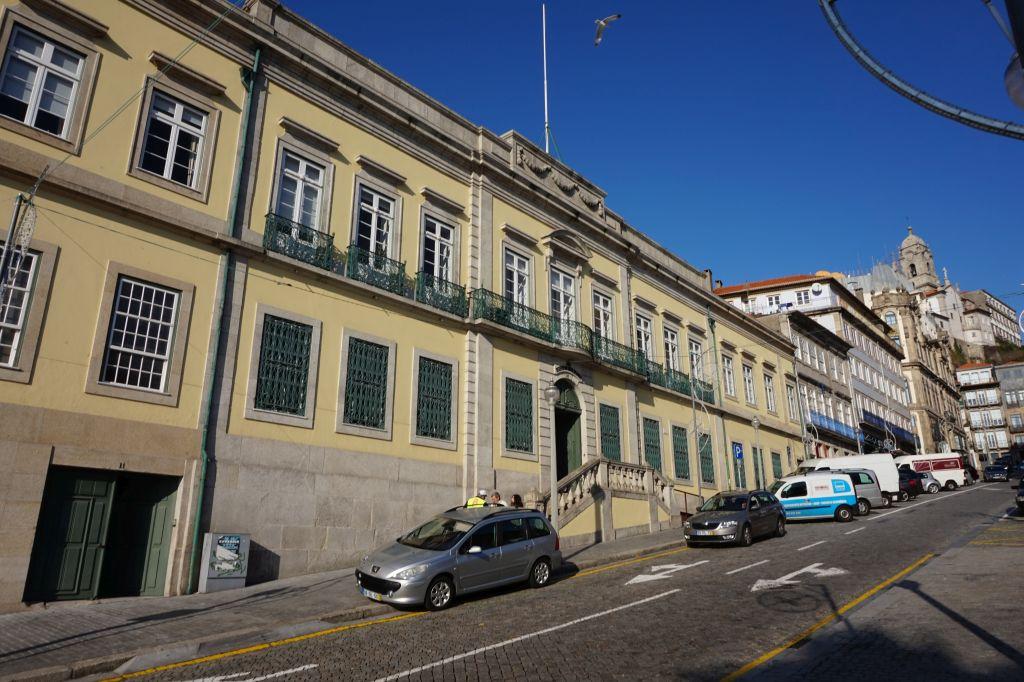 Budova IVDP - Institutu portského vína a vín z Doura