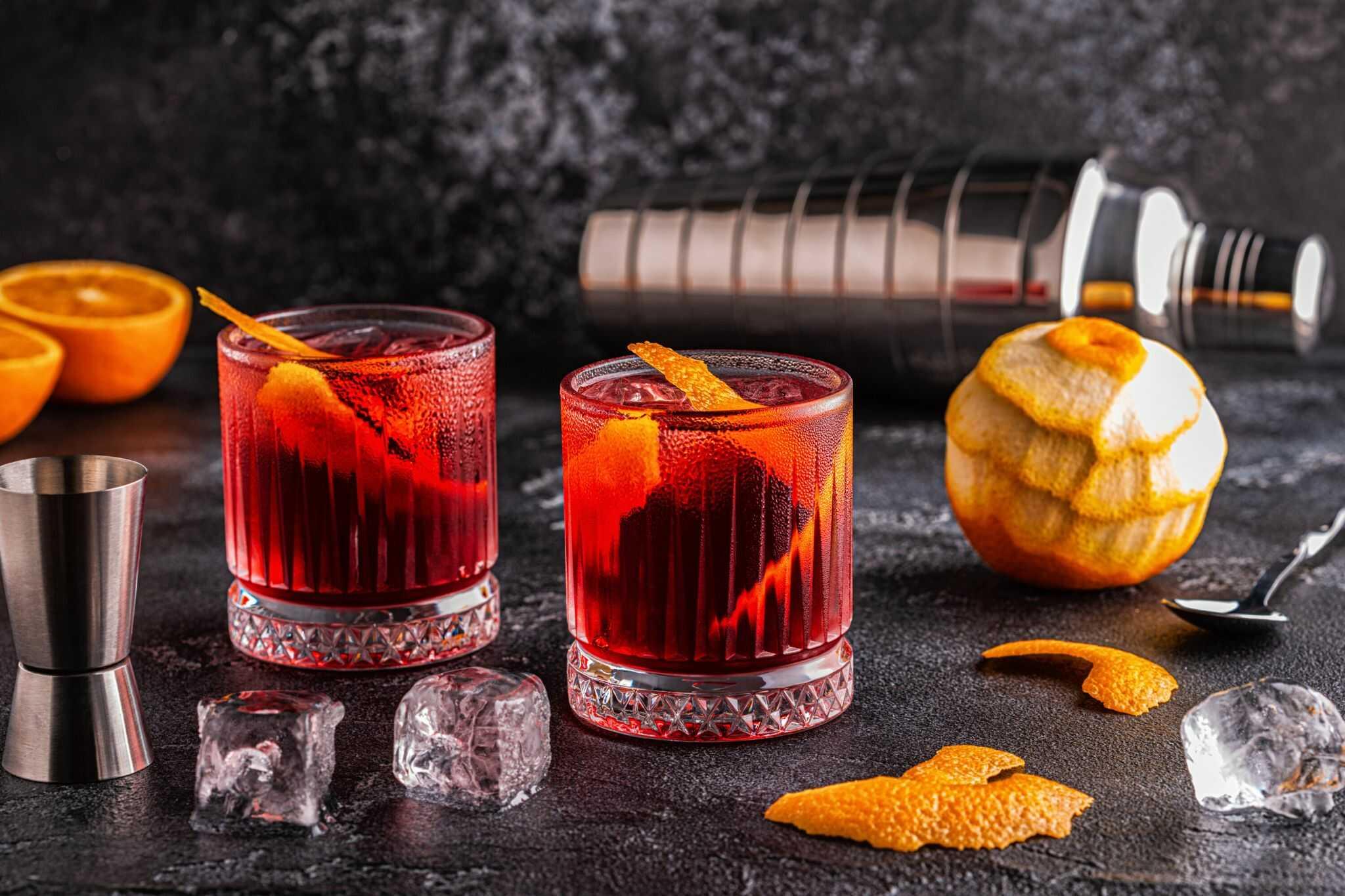 Porto Negroni jako osvěžující letní drink